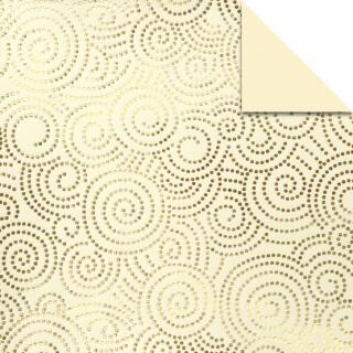 Ursus Aurelio Stern Set Faltblätter 10 x 10 cm - Swirl creme/gold veredelt (15996800)