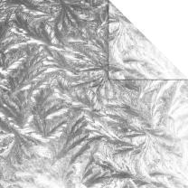 Aurelio Stern Set Faltblätter 15 x 15 cm - Sirius silber glänzend veredelt