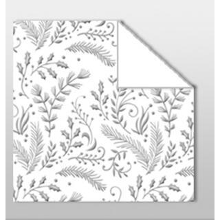 Aurelio Stern Set Faltblätter 15 x 15 cm - Nova weiß/silber veredelt