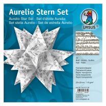 Aurelio Stern Set Faltblätter 14,8 x 14,8 cm - Noten...