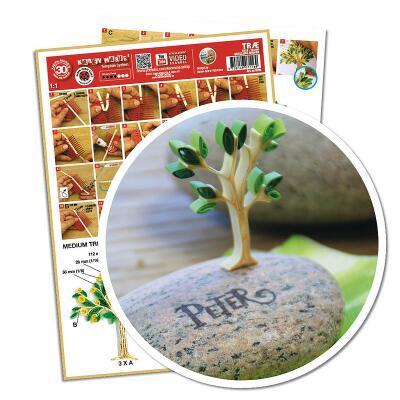 Quillingschablone/ Quillingboard Baum (0111)