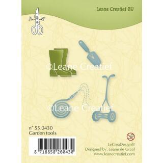 Leane Creatief clear stamp - Gartengeräte (55.0430)