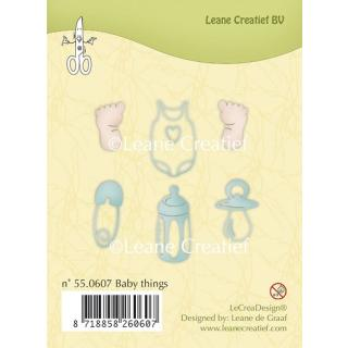 Leane Creatief clear stamp - Baby Dinge (55.0607)