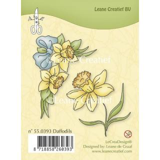 Leane Creatief clear stamp - Narzissen (55.0393)