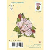 Leane Creatief clear stamp - Blume 5 x 5 cm (55.9470)