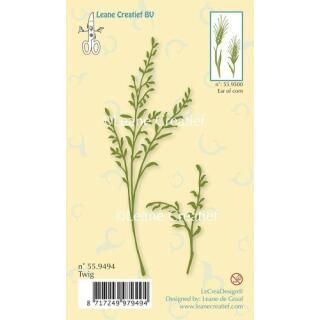 Leane Creatief clear stamp - Zweig 11 x 4 cm (55.9494)
