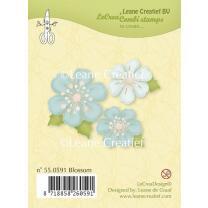 Leane Creatief clear combi stamp - Blüten (55.0591)