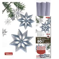 Quilling Set Galaxy Stars - Sterne - luxus silber