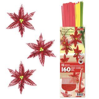 Kamm Quilling Kit  Weihnachtsstern