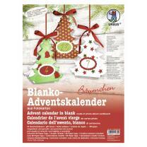 Ursus Adventskalender - Bäumchen Blanko