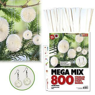Mega Mix Quilling Set - Weihnachtskugeln