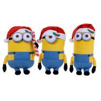 Minions Weihnachten Bob, Stuart, Kevin mit...