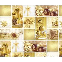 Motiv-Fotokarton Weihnachten gold (96), 300 g/m²,...