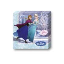 Frozen die Eiskönigin Ice Skating Servietten, 20...
