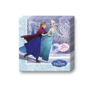 Frozen die Eiskönigin Ice Skating Servietten, 20 Stück