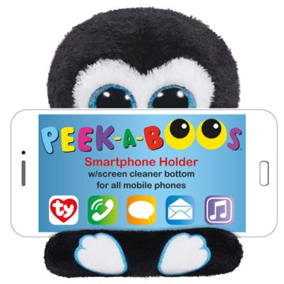 Ty Peek-A-Boos Smartphone-Halter Pinguin Penni, 15 cm