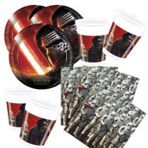 52- teiliges Party-Set Star Wars VII - The Forc e Awakens...