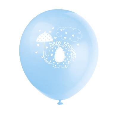 Luftballons  Baby Fantastisch blau Elefant, 8 Stück