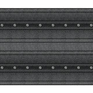 Motiv-Fotokarton Leder schwarz (93), 300 g/m²,  49,5cm x 68cm