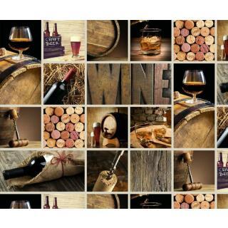 Motiv-Fotokarton Drinks (80), 300 g/m²,  49,5cm x 68cm