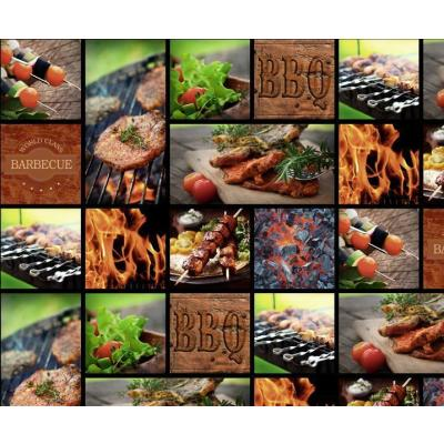 Motiv-Fotokarton Barbecue (81), 300 g/m²,  49,5cm x 68cm