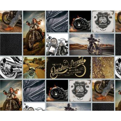 Motiv-Fotokarton Bikes (82), 300 g/m²,  49,5cm x 68cm