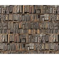 Motiv-Fotokarton Buchstaben (84), 300 g/m²,  49,5cm...