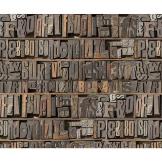 Motiv-Fotokarton Buchstaben (84), 300 g/m²,  49,5cm x 68cm