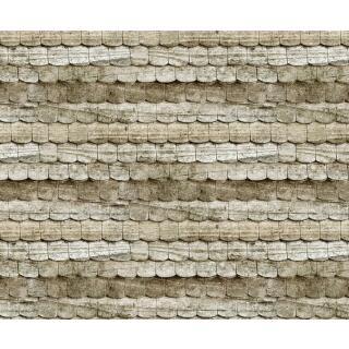 Motiv-Fotokarton Holzschindeln braun (91), 300 g/m²,  49,5cm x 68cm