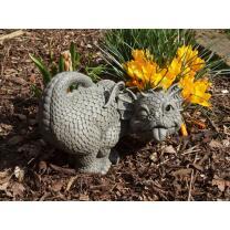 Gartenfigur - Drache - Gartendrache...