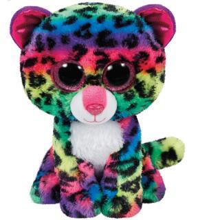 TY Beanie Boos Leopard  - Dotty bunt  15 cm