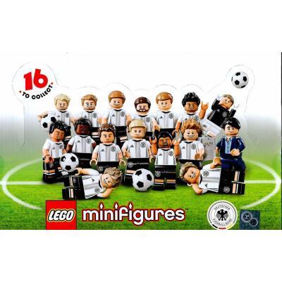 Serie 71014 Lego DFB - Die Mannschaft Komplettsatz - alle 16 Minifiguren