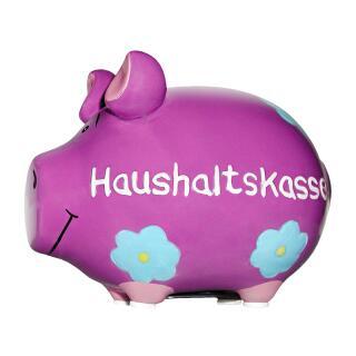 KCG Kleinschwein Keramik Sparschwein - Haushaltskasse -  ca. 12 cm x 9 cm