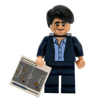 Lego® DFB Fussball Minifigur Nationalmanschaft Jogi Löw Neu