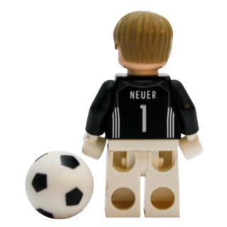 Serie 71014 Lego  DFB - Die Mannschaft - Minifigur Nr. 1 Manuel Neuer