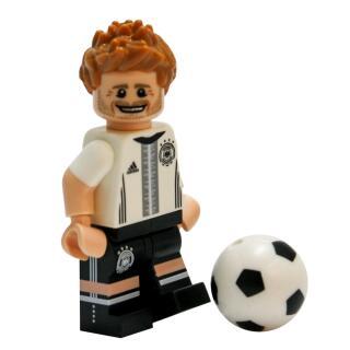 Serie 71014 Lego  DFB - Die Mannschaft - Minifigur Nr. 4 Benedikt Höwedes