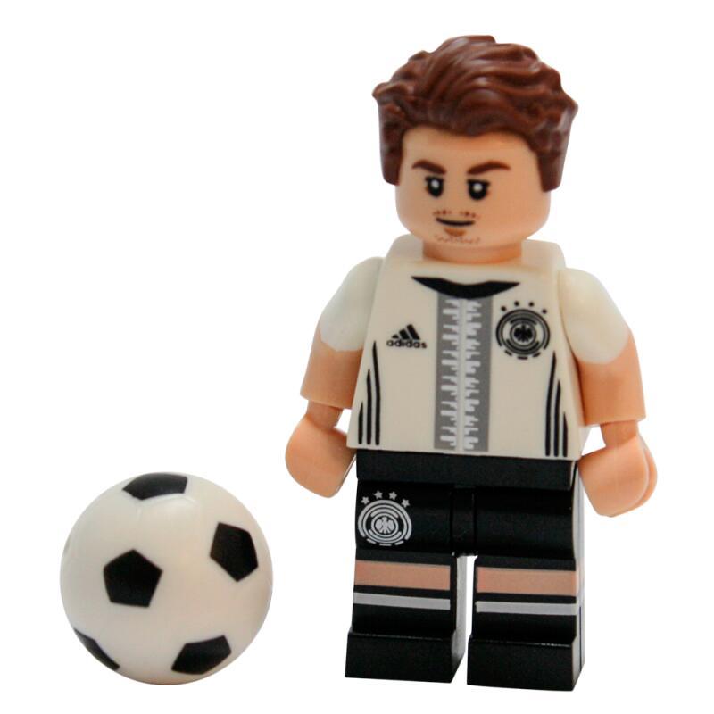Serie 71014 Lego Dfb Die Mannschaft Minifigur Nr 19 Mario Götze