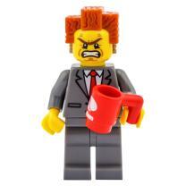 Serie 71004 Lego Movie Minifigur  Nr. 2 Präsident...