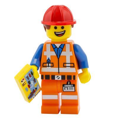 Serie 71004 Lego Movie Minifigur  Nr. 3 Bauarbeiter Emmet