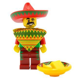 Serie 71004 Lego Movie Minifigur  Nr. 12 Taco Tuesday Mann