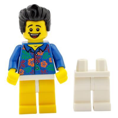 Serie 71004 Lego Movie Minifigur  Nr. 13 Wo ist meine Hose - Mann