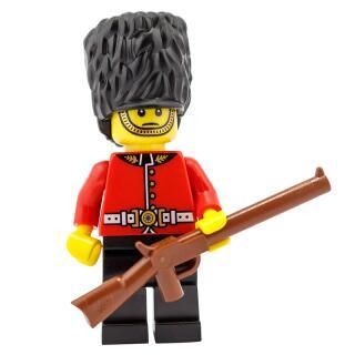 8805 - Lego Serie 5 Minifigur  Nr. 3 Königliche Wache