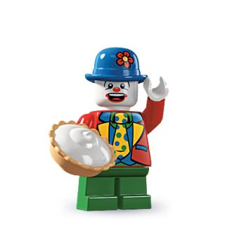 8805 - Lego Serie 5 Minifigur  Nr. 9 Kleiner Clown