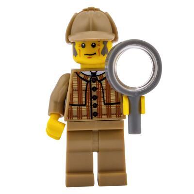 8805 - Lego Serie 5 Minifigur  Nr. 11 Detektiv