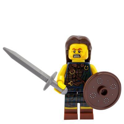 8827 - Lego Serie 6 Minifigur Nr. 2  Highländer