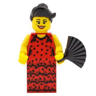 8827 - Lego Serie 6 Minifigur Nr.6 Flamenco-Tänzerin