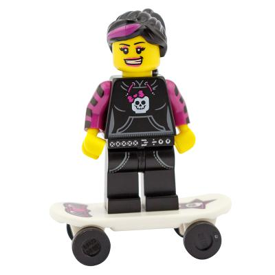 8827 - Lego Serie 6 Minifigur Nr.12 Skaterin