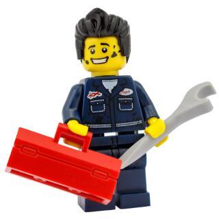 8827 - Lego Serie 6 Minifigur Nr.15 Handwerker