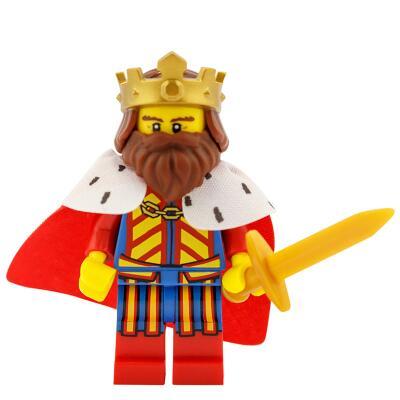 71008 - Lego Serie 13 - Minifigur Nr. 1 Klassischer König