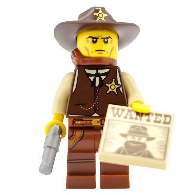 71008 - Lego Serie 13 - Minifigur Nr. 2 Sheriff